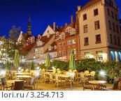 Площадь Ливу (Livu square). Рига, Латвия (2009 год). Стоковое фото, фотограф Jelena Dautova / Фотобанк Лори