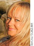 Портрет девушки-блондинки. Стоковое фото, фотограф Кудрявцева Светлана / Фотобанк Лори