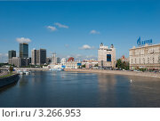 Купить «Набережные Москва-реки», фото № 3266953, снято 18 августа 2011 г. (c) Зобков Георгий / Фотобанк Лори