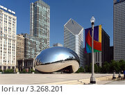 Купить «Чикаго Миллениум Парк», фото № 3268201, снято 14 июня 2007 г. (c) Sergey Borisov / Фотобанк Лори