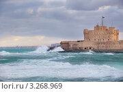 Купить «Вид на крепость Кайт-Бей в городе Александрия, Египет», фото № 3268969, снято 23 января 2012 г. (c) Николай Винокуров / Фотобанк Лори