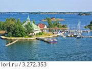 Купить «Острова в Балтийском море вблизи Хельсинки, Финляндия», фото № 3272353, снято 9 августа 2009 г. (c) Олег Жуков / Фотобанк Лори