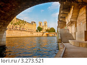 Купить «Река Сена, Париж, Франция», фото № 3273521, снято 16 июня 2019 г. (c) Sergey Borisov / Фотобанк Лори