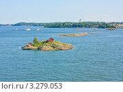 Купить «Острова в Балтийском море рядом с Хельсинки, Финляндия», фото № 3279053, снято 9 августа 2009 г. (c) Олег Жуков / Фотобанк Лори