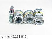 Доллары. Стоковое фото, фотограф Александр Каляев / Фотобанк Лори