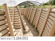 Купить «Окопы в музее военной техники на Поклонной горе», эксклюзивное фото № 3284053, снято 19 июня 2010 г. (c) Алёшина Оксана / Фотобанк Лори