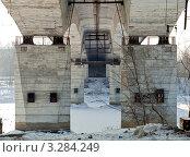 Купить «Тверь. Восточный мост», фото № 3284249, снято 19 февраля 2012 г. (c) Ольга Денисова / Фотобанк Лори