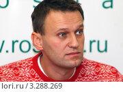 Купить «Адвокат, юрист, политик Алексей Навальный», эксклюзивное фото № 3288269, снято 25 февраля 2012 г. (c) Александр Тарасенков / Фотобанк Лори
