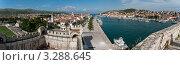 Купить «Панорама старого города, Трогир, Хорватия, Адриатика», фото № 3288645, снято 14 июня 2010 г. (c) Alexey Kotikov / Фотобанк Лори