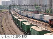 Москва-Сортировочная-Бескудниково (2010 год). Редакционное фото, фотограф Алёшина Оксана / Фотобанк Лори
