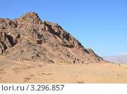 Африканский пустынный пейзаж. Стоковое фото, фотограф Анфимов Леонид / Фотобанк Лори
