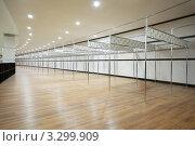 Купить «Пустая раздевалка. Гардероб», фото № 3299909, снято 19 декабря 2010 г. (c) Losevsky Pavel / Фотобанк Лори