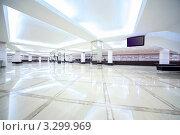 Купить «Большой пустой  холл с раздевалкой», фото № 3299969, снято 19 декабря 2010 г. (c) Losevsky Pavel / Фотобанк Лори