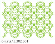 Купить «Абстрактный зеленый  фон», иллюстрация № 3302501 (c) Андрей Ижаковский / Фотобанк Лори