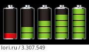 Купить «Стадии разряда батареи аккумулятора», иллюстрация № 3307549 (c) Michael Travers / Фотобанк Лори