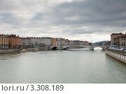 Купить «Городской пейзаж. Лион. Франция», фото № 3308189, снято 25 февраля 2012 г. (c) Екатерина Овсянникова / Фотобанк Лори