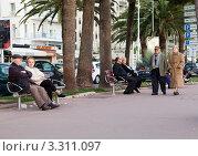 Канны. Прогулка (2012 год). Редакционное фото, фотограф Юрий Гринфельд / Фотобанк Лори