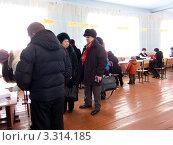 Купить «Избирательный участок. Выборы президента 4 марта 2012 года», фото № 3314185, снято 4 марта 2012 г. (c) Александр Подшивалов / Фотобанк Лори