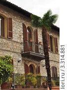 Вид из окна, Италия (2011 год). Стоковое фото, фотограф Серебрякова Анастасия / Фотобанк Лори