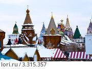 Купить «Москва. Измайловский Кремль», фото № 3315357, снято 29 февраля 2012 г. (c) Олег Тыщенко / Фотобанк Лори