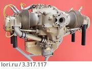 Купить «Оппозитный двигатель внутреннего сгорания», фото № 3317117, снято 18 августа 2011 г. (c) Игорь Долгов / Фотобанк Лори