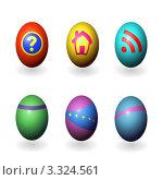 Пасхальные яйца. Стоковое фото, фотограф Alexi Bradich / Фотобанк Лори