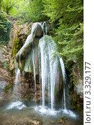 Водопад (2008 год). Стоковое фото, фотограф Вадим Ярошик / Фотобанк Лори