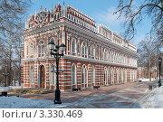Купить «Оперный дом. Царицыно. Москва», фото № 3330469, снято 8 марта 2012 г. (c) Сергей Родин / Фотобанк Лори
