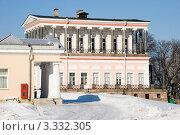 Дворец  и гостиница Бельведер. Петергоф (2012 год). Редакционное фото, фотограф Александр Щепин / Фотобанк Лори