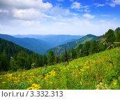 Купить «Горный красивый пейзаж. Алтай», фото № 3332313, снято 20 июля 2011 г. (c) Яков Филимонов / Фотобанк Лори