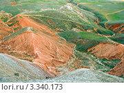 Купить «Вид с горы Богдо возле озера Баскунчак», фото № 3340173, снято 3 мая 2011 г. (c) Надежда Болотина / Фотобанк Лори