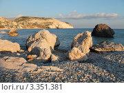 Aphrodite`s Rock (Гора Афродиты), Пафос, Кипр (2012 год). Стоковое фото, фотограф Павел Михеев / Фотобанк Лори