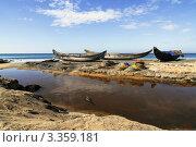 Рыбацкие лодки. Стоковое фото, фотограф Кудрявцева Светлана / Фотобанк Лори