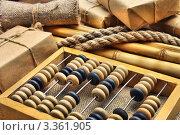 Купить «Складской инвентарь в старом стиле», фото № 3361905, снято 28 марта 2020 г. (c) Олег Жуков / Фотобанк Лори