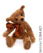 Купить «Грустный медведь Тедди ручной работы», фото № 3364421, снято 2 июня 2020 г. (c) Marina Appel / Фотобанк Лори