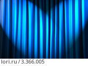 Купить «Складки синей ткани в лучах света», фото № 3366005, снято 14 апреля 2011 г. (c) Elnur / Фотобанк Лори