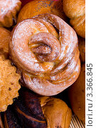 Купить «Свежие булочки», фото № 3366845, снято 15 февраля 2010 г. (c) Татьяна Макотра / Фотобанк Лори