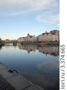 Купить «Калининград. Городская набережная», эксклюзивное фото № 3374665, снято 14 декабря 2011 г. (c) Svet / Фотобанк Лори