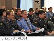 Купить «Полицейское совещание», эксклюзивное фото № 3378381, снято 14 октября 2011 г. (c) Free Wind / Фотобанк Лори