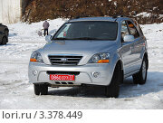 Купить «Автомобиль Kia (Корея). Москва», эксклюзивное фото № 3378449, снято 24 марта 2012 г. (c) lana1501 / Фотобанк Лори