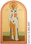 Купить «Икона Святого Николая», фото № 3383897, снято 29 февраля 2012 г. (c) Дмитрий Калиновский / Фотобанк Лори