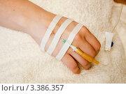 Купить «Внутривенное вливание ( внутривенная инфузия). Инфузионная терапия», фото № 3386357, снято 18 марта 2012 г. (c) WalDeMarus / Фотобанк Лори