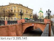 Купить «Каменный мост в Воронеже», фото № 3395141, снято 8 ноября 2010 г. (c) Светлана Кузнецова / Фотобанк Лори