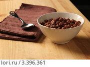 Шоколадные кукурузные шарики. Стоковое фото, фотограф Фролова Евгения / Фотобанк Лори