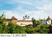 Купить «Зарайский кремль», эксклюзивное фото № 3397405, снято 23 мая 2010 г. (c) Зобков Георгий / Фотобанк Лори
