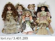 Куклы нарядные (2012 год). Редакционное фото, фотограф Вячеслав Зяблов / Фотобанк Лори