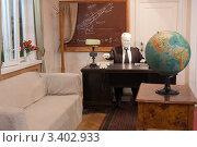 Купить «Интерьер кабинета - комнаты отдыха С.П. Королева на предприятии ОКБ-1», фото № 3402933, снято 18 марта 2012 г. (c) Михаил Рыбачек / Фотобанк Лори