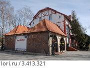 Купить «Светлогорск. Старый дом», эксклюзивное фото № 3413321, снято 1 апреля 2012 г. (c) Svet / Фотобанк Лори