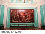 Большой кремлёвский дворец, картина (2005 год). Редакционное фото, фотограф Иван Новиков / Фотобанк Лори