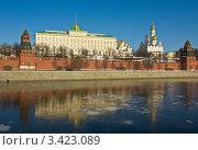 Купить «Москва, Кремль, весна», фото № 3423089, снято 10 марта 2012 г. (c) ИВА Афонская / Фотобанк Лори